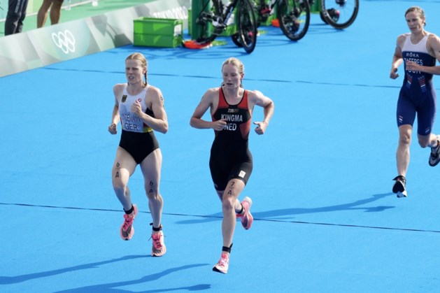Knappe vierde plaats voor Limburgs getinte triatlonploeg in Tokio