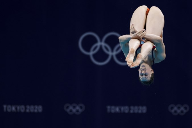 Inge Jansen naar olympische finale, als eerste Nederlandse schoonspringster sinds 1988