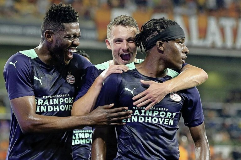 PSV tegen Galatasaray simpel verder in voorrondes Champions League