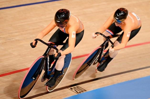 Teamsprintsters missen medaille, Russinnen te sterk in strijd om brons