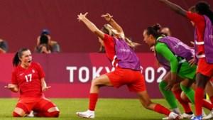 Amerikaanse voetbalvrouwen geven winst op Nederland geen vervolg, Canada te sterk in halve finale
