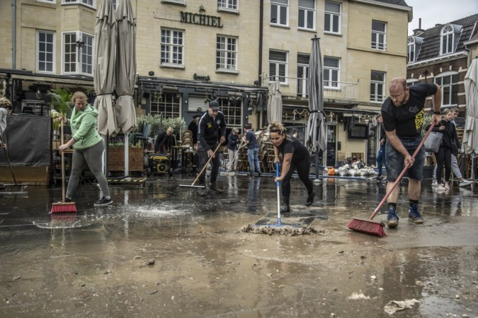 Verzekeraars weigeren na watersnood miljoenenschade uit te keren aan dertig Valkenburgse gedupeerden