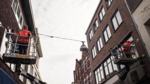Herstelwerkzaamheden aan muurankers in centrum van Sittard en Geleen