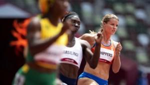 Dafne Schippers komt duidelijk tekort en loopt finale op 200 meter mis; 'hoopte op miracle'