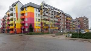 Spaanse kunstenaars veranderen verpauperde Auroraflat Heerlen in kleurrijke blikvanger