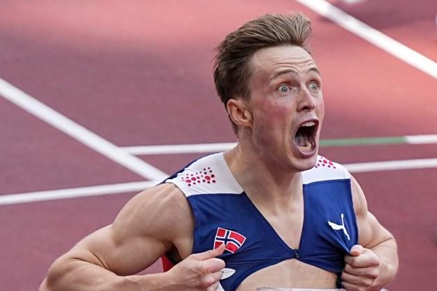 Warholm pakt goud in supertijd en is eerste man ooit die onder de 46 seconden loopt op 400 meter horden