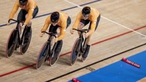 Goud voor Nederland, teamsprinters maken favorietenrol volledig waar
