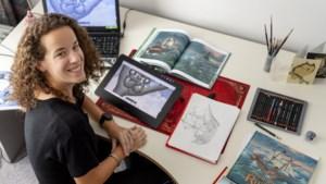 Esther Rosier illustreert sprookjes en avonturenboeken van de Efteling