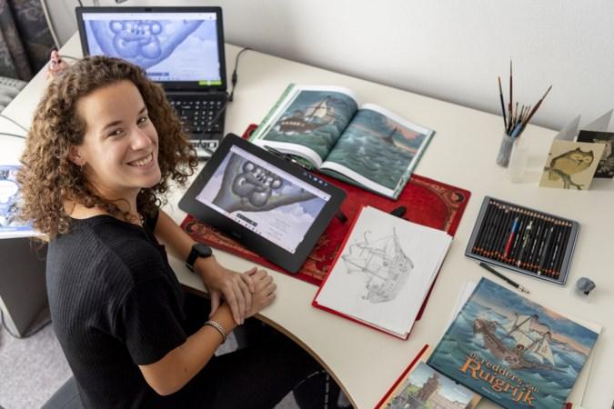 Kunstenaar Esther Rosier uit Heerlen duikt in sprookjes en avonturenboeken van Efteling