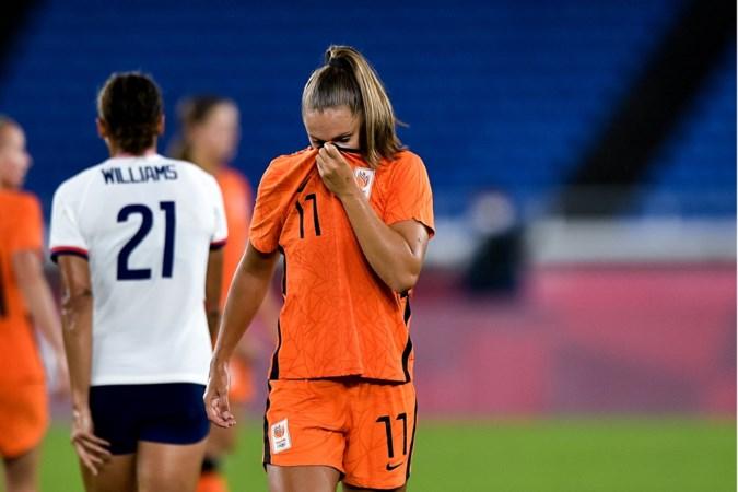Vrouwenvoetbal roestvlek op Olympische Spelen; voortdurende worsteling met de bal langs topsportmeetlat leggen is volksverlakkerij