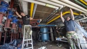 Limburgse Jagers ruimen als gesmeerde bliksem puin in kinderrevalidatiecentrum Houthem: 'Soldatenwerk is mensen helpen'
