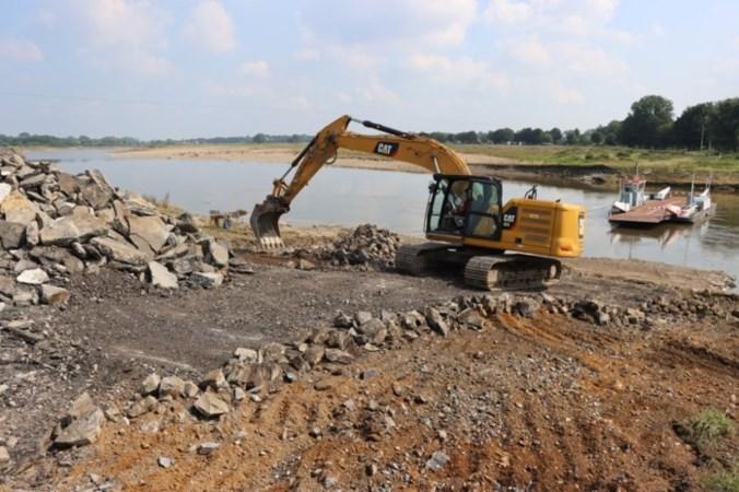 Vlaamse minister verwacht dat veerverbinding tussen Berg en Meeswijk eind augustus hersteld is