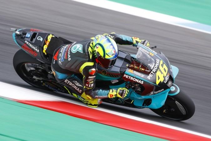 Motorcoureur Valentino Rossi (42) vindt het mooi geweest