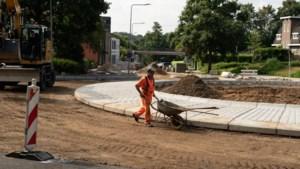 Rotonde bij Eygelshoven moet vanwege wateroverlast worden verhoogd