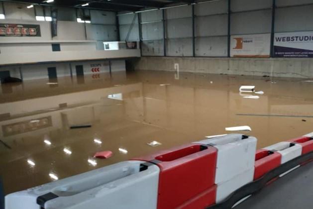 Kartbaan Powerarea Lemiers door wateroverlast voorlopig dicht; verzoek om voorlopig niet te reserveren