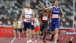 Noor Jakob Ingebrigtsen wint 1500 meter in olympisch record