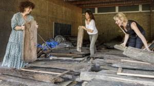 Eeuwenoud hout afkomstig van opgravingen in Weert krijgt nieuwe kunstzinnige bestemming