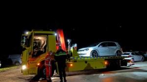 Brandweer en politie rukken weer uit naar De Schatberg, beveiligers voorkomen autobrand