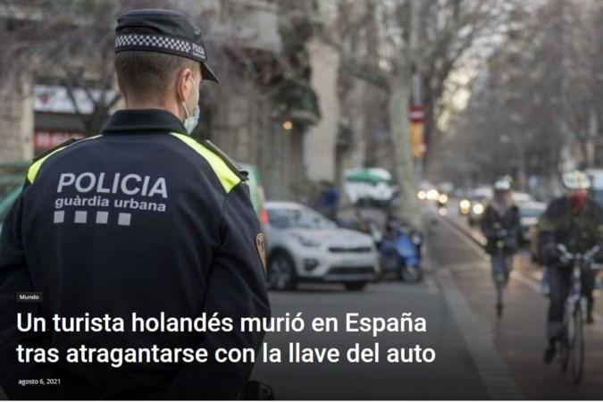 Man uit Reuver (37) overlijdt op mysterieuze wijze in Barcelona