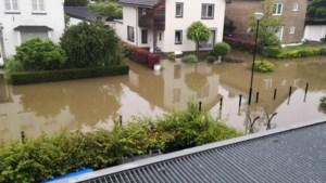Wateroverlast: zandzakken voor de deur en drollen door de straat in 'het afvoerputje van Schinnen'