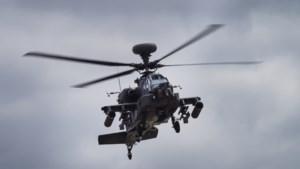 Apache-helikopters oefenen in gemeente Peel en Maas
