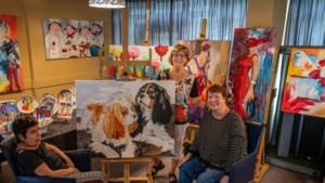't Kweske in Geleen brengt kleur in leven van schilders met verstandelijke beperking