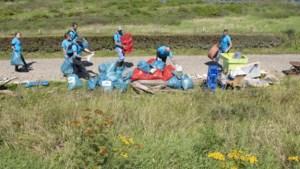 Schoonmaak Maasoevers bij Elsloo krijgt vervolg: nog lang niet alle aangespoelde rommel is opgeruimd