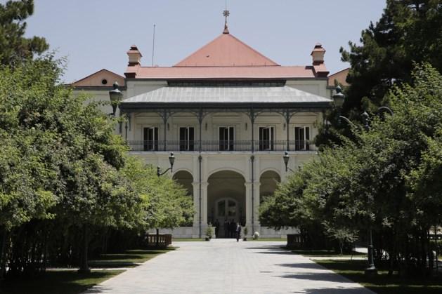 Taliban roepen in presidentieel paleis Kaboel overwinning uit