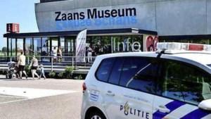 'Kunstroof bij Zaans Museum mislukt, verdachten gevlucht'