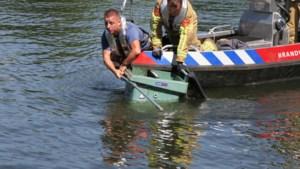 'Verdachte' afvalbak die uit het water werd gevist bij Weert, blijkt leeg te zijn geweest
