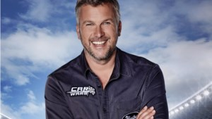 René Froger reed voor nieuw tv-programma 'Car Wars' zijn tuin aan gort