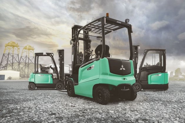 Van grijs naar jewel green: UniCarriers wordt Mitsubishi Forklift Trucks.