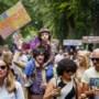 Unmute Us-demonstratie: 'Geweldige opkomst, maar de somberte is niet weg'
