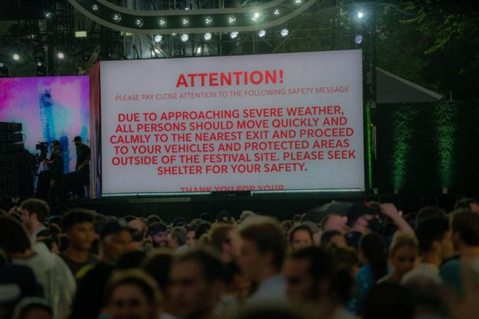 Concert New York in teken van einde lockdown stilgelegd om orkaan