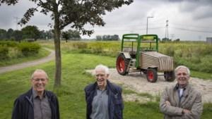 Inwoners Stevensweert bouwen stoere tractor als speeltoestel: 'We moesten met van alles rekening houden'