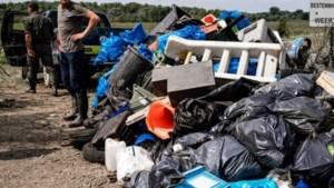 Ruim 130.000 kilo afval opgeruimd na wateroverlast in Limburg