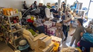 Hulporganisatie dreigt dakloos te worden: 'Waar moeten we met al die spullen voor slachtoffers watersnood naartoe?'