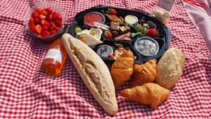 Picknicken in Noorbeek met een gevulde knapzak