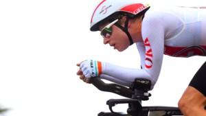 Wielrenster Reusser wint tijdrit Ladies Tour voor Van Dijk
