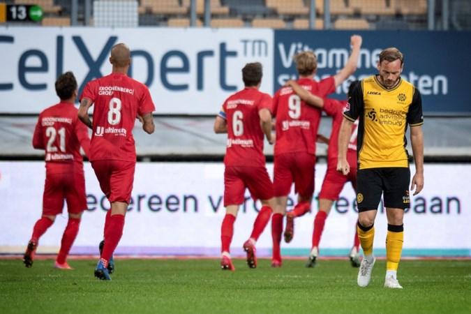 Roda tegen Almere in blessuretijd ten onder
