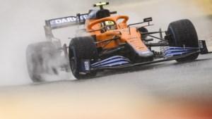 Norris komt ongeschonden uit crash en mag starten op Spa