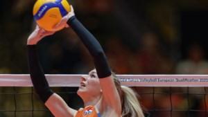 Volleybalsters naar kwartfinales op EK dankzij zege op Duitsland