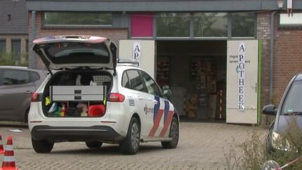 Overval op apotheek in Horst; politie schiet verdachte neer