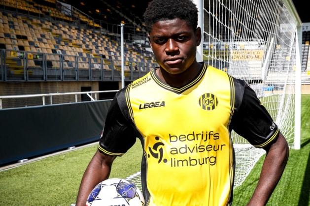 Roda JC heeft aanvaller Bryan Limbombe definitief binnen