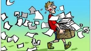 Koninklijke Fanfare De Vriendenkring Montfort haalt oud papier op