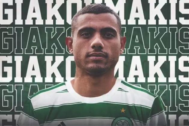 Giakoumakis officieel gepresenteerd bij nieuwe werkgever Celtic