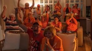 Bier, ballonnen en een keiharde crash: feest in Heerlen na gouden plak handbiker Mitch Valize