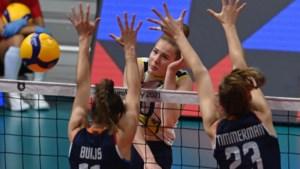 Volleybalsters naar laatste vier na tweede EK-zege op Zweden