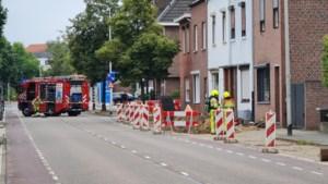 Twee gaslekkages op rij voor straat in Kerkrade