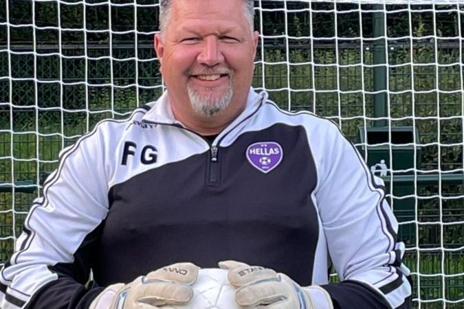 Dankzij Frenk Gorissen heeft VV Hellas nooit een keepersprobleem